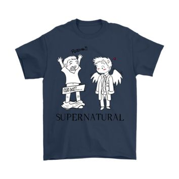 KUYOU Supernatural Silly Dean Winchester Shirts