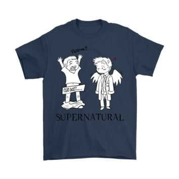 DCKG6Q Supernatural Silly Dean Winchester Shirts