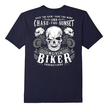 Motorcycle Shirt Rider Ride Chase Race Biker Understands
