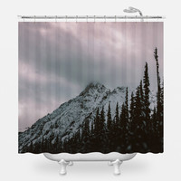 Mountain Love Shower Curtain