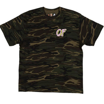 OF DONUT TEE CAMO – Odd Future