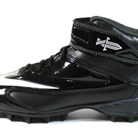 Nike Boy's TT15 Shark BG Black/White Football Cleats