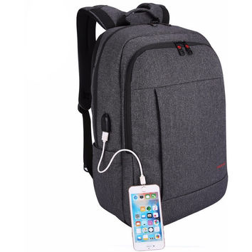 Anti-thief USB charging Backpack
