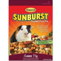 Higgins Sunburst Gourmet Guinea Pig Food Mix 6 lbs