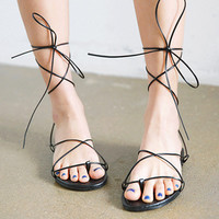 Sleek Strappy Sandals