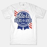 Stars Bars And PBRs (Tee) | LookHuman.com