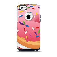 Sprinkled 3d Donut Skin for the iPhone 5c OtterBox Commuter Case