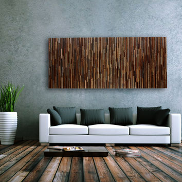 Wood Wall Art, made of old barn wood