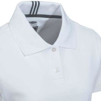 Adidas Women's Climalite Reflex Pique Golf Polo