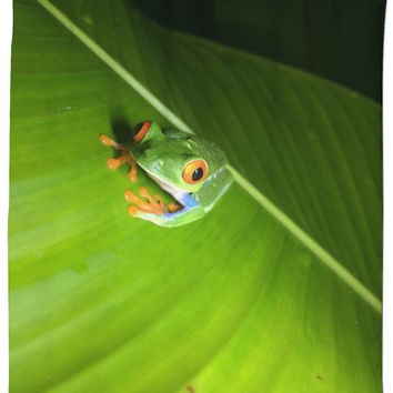 Tree Frog Shower Curtain!
