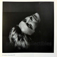 Haunting David Bowie by Victor Skrebneski Black and White 1978 Vintage Portrait Plate 26 Chicago Studio BW