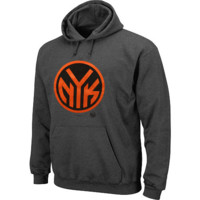 Men's New York Knicks Majestic Charcoal Big and Tall Pop Hoodie Sweatshirt