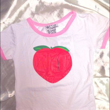 SWEET LORD O'MIGHTY! V PEACHY RINGER TEE
