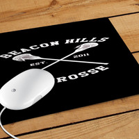 Beacon Hills Cyclones Teen Wolf White Mousepad | Aneend