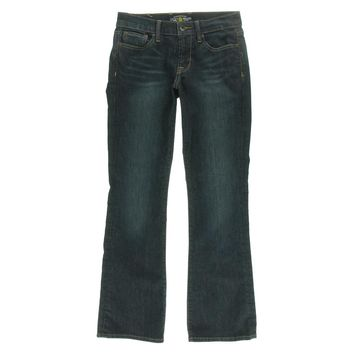 Lucky Brand Womens Mid-Rise Five-Pocket Bootcut Jeans