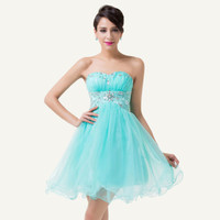 New Short prom dresses Mini Homecoming Ball Gown Dresses Evening Party Dresses
