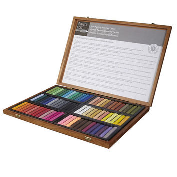 Artist's Loft® Soft Pastel Set, Wooden Case