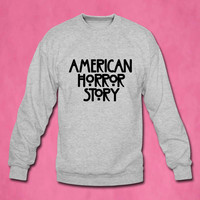 american horror story sweater Sweatshirt Crewneck Men or Women Unisex Size