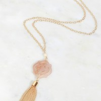 Tranquil Travels Pendent Necklace Gold