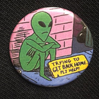 Alien's Home Button/Pin