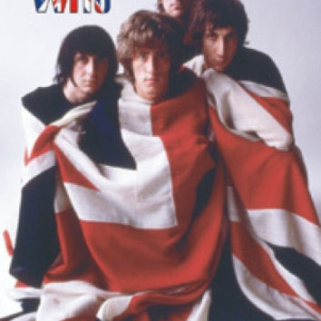 The Who Vinyl Sticker Group Flag Logo