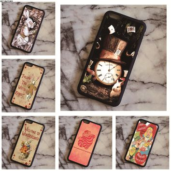 KETAOTAO NEW Alice in Wonderland Phone Cases for Samsung galaxy S3 S4 S5 S6 S7 S8 S9 Note 4 5 7 8 Case Soft TPU Rubber Silicone