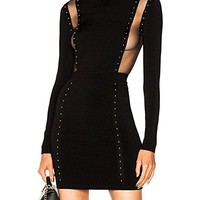 Friday Night Fever Bandage Dress