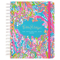 Lilly Pulitzer Large 17 Month 2015-2016 Agenda - Scuba to Cuba