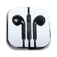 vNetech Premium Headphone with Remote Control & Mic for iPhone 3gs, 4, 4s, 5, 5s, 6, iPads, iPods Compatible (Black)