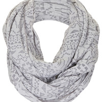 Geo Burnout Snood - Scarves - Bags & Accessories - Topshop USA
