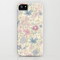 Floral Love iPhone & iPod Case by PinkBerryPatterns