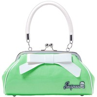 Sourpuss Super Floozy Handbag - Seafoam Green