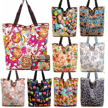 Fashion Portable Folding Shopping Bag Women Shoulder Crossbody Bags Bolsa Feminina Summer Beach Tote Handbags Lady Brand