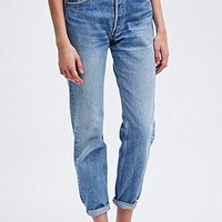 Urban Renewal Vintage Customised Levis 501 Jeans in Blue - Urban Outfitters