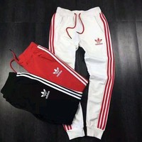 Adidas Fashion Stripe Casual Sport Pants Trousers Sweatpants