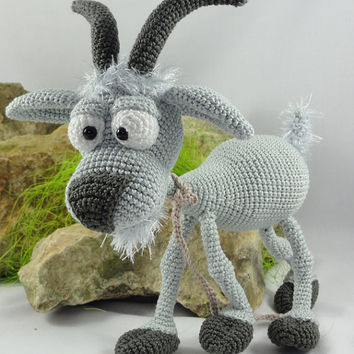 Gus the Goat - Amigurumi Crochet Pattern