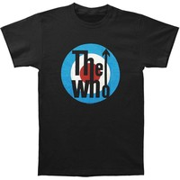 Who Men's  Classic Logo T-shirt Black