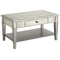 Hayworth Coffee Table - Silver