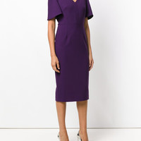 Roland Mouret Fitted Midi Dress - Farfetch