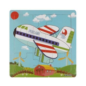 Excellent Design Wooden Airplane Puzzle great for the whole family