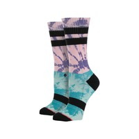 Stance Twister Block Athletic Crew Sock - Women's Pink, One