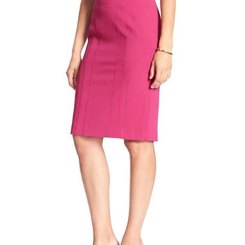 Banana Republic Womens Factory Seamed Pencil Skirt