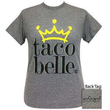 Girlie Girl Originals Preppy Taco Belle Crown T-Shirt