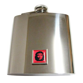 Che Guevara 6 Oz. Stainless Steel Flask