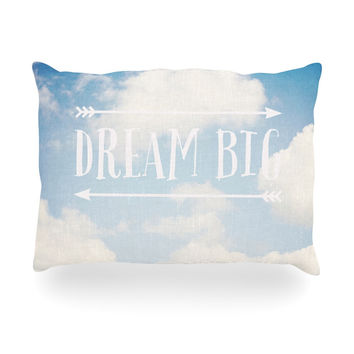 "Susannah Tucker ""Dream Big"" Clouds Oblong Pillow"