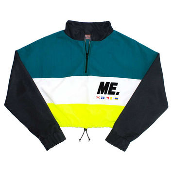 M.E. Crop Windbreaker | Melodyehsani
