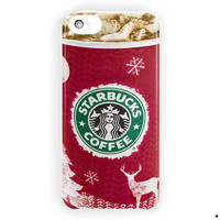 Starbucks Dark Cherry Mocha Cover For iPhone 5 / 5S / 5C Case