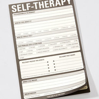 Self-Therapy Notepad | Knock Knock Self Therapy Pad | fredflare.com