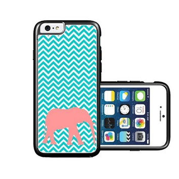 RCGrafix Brand Elephant Micro Chevron iPhone 6 Case - Fits NEW Apple iPhone 6
