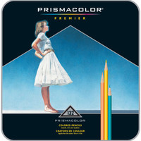 Prismacolor Premier Colored Pencils 132 piece Pencil Tin Set